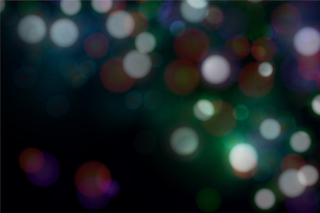 Blurred bokeh wallpaper