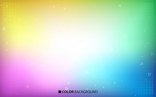 Blurred bright colors background