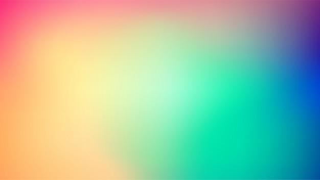 밝은 색상 메쉬 배경 흐리게