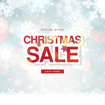 Blurred christmas sale