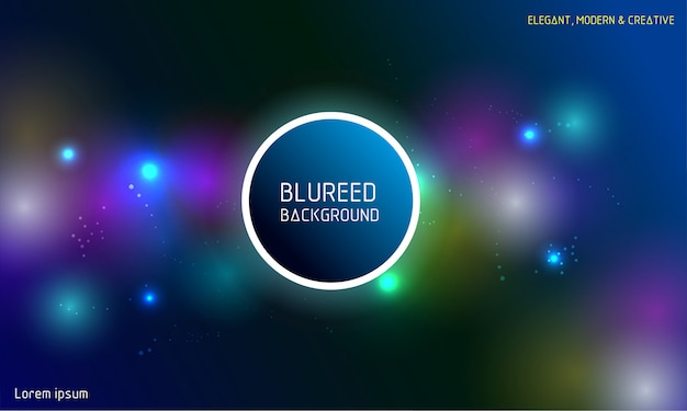 Blurred colorful abstract background