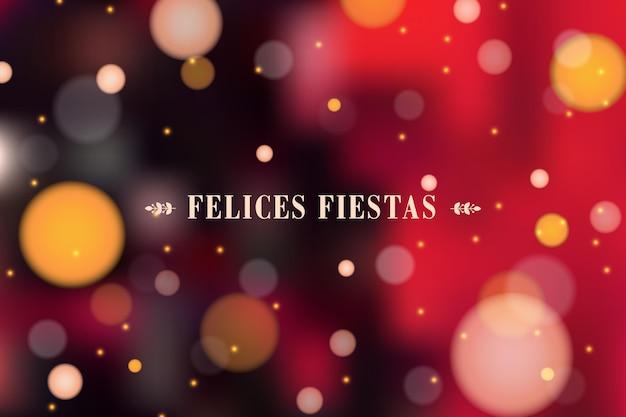 Размытые концепции праздников felices