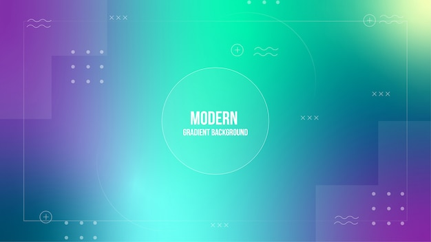 Blurred gradient abstract background