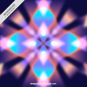 Blurred kaleidoscope background