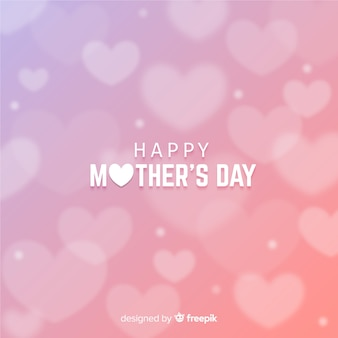 Blurred mother's day background