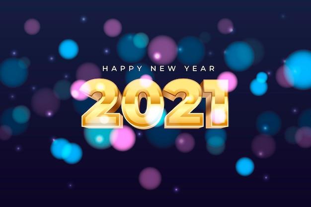 Sfocato nuovo anno 2021