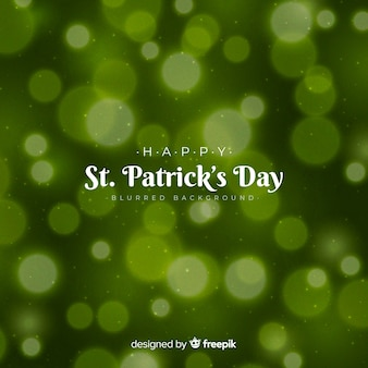 Blurred st. patrick's day background