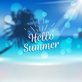 Размытое лето