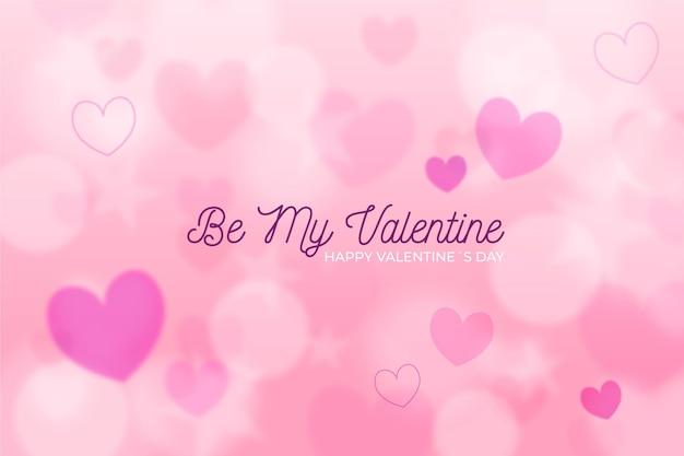 Sfondo sfocato di san valentino