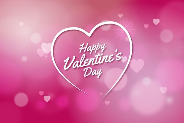 Blurred valentine's day elegant background