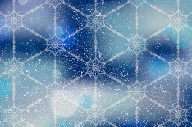 Sfondo sfocato invernale