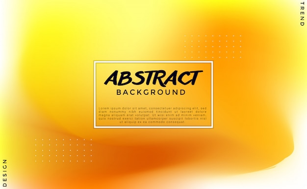 Blurred yellow abstract vibrant background