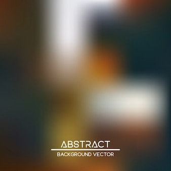Blurry background with abstract shapes