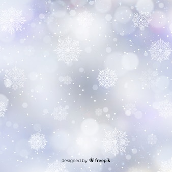 Blurry christmas background