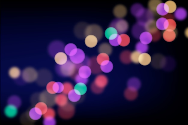 Blurry colourful bokeh glare background