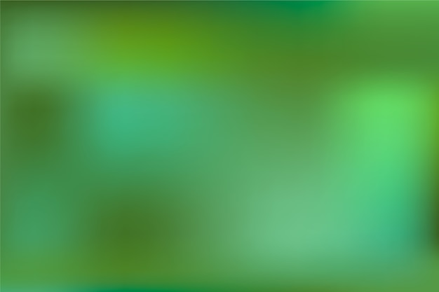 Blurry gradient background in green shades