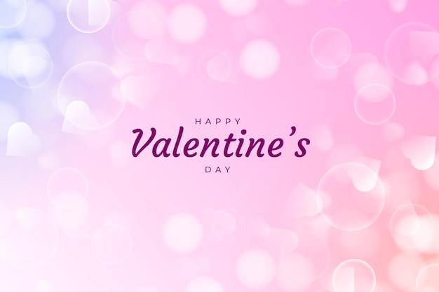 Blurry valentine's day background
