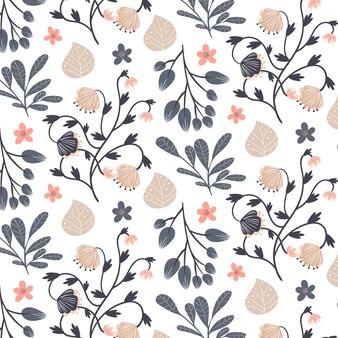 Blush floral pattern