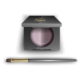 Румяна коричневого цвета косметические для контура женского лица makeup brush