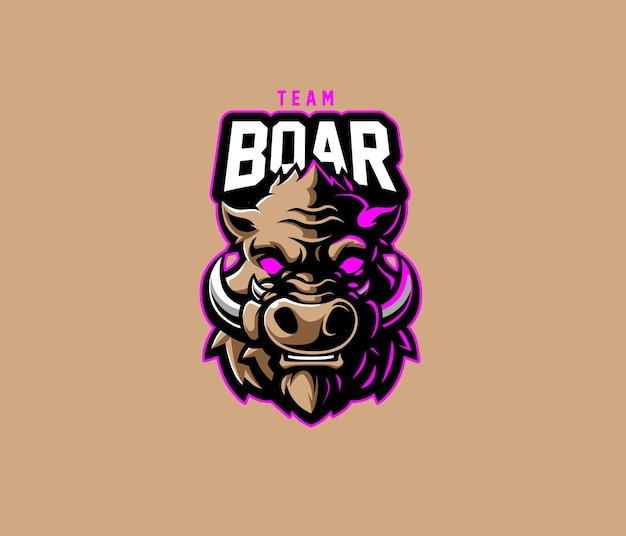 Boar team esport 로고