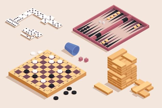 Collezione di giochi da tavolo