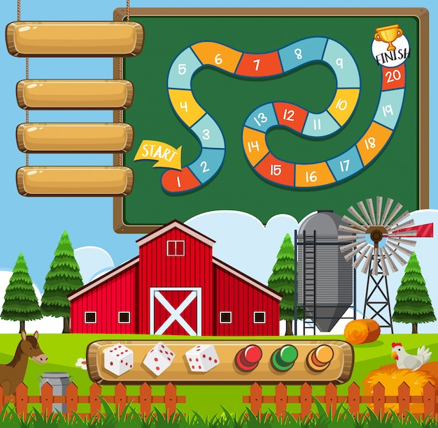 A board game farm