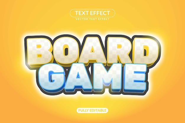 Текстовый эффект настольной игры