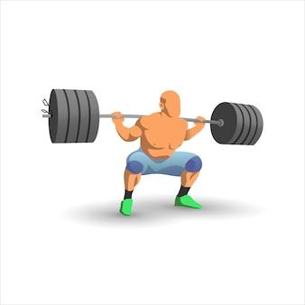 Bodybuilder heavyweight