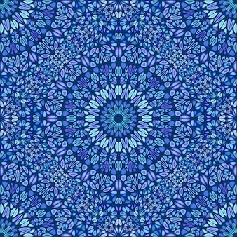 보헤미안 추상 꽃잎 만다라 패턴