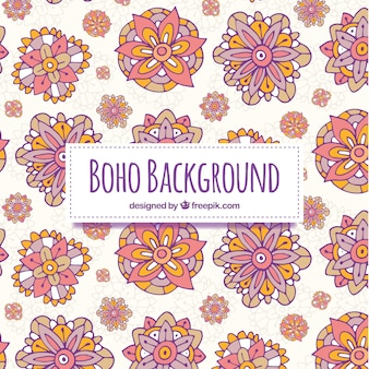 Hippie background vectors photos and psd files free download boho background with hippie elements voltagebd Choice Image