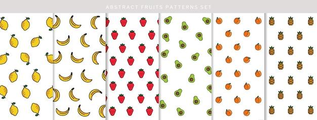 自由奔放に生きるフルーツパターンコレクション
