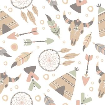 Boho pattern design