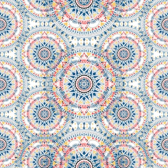 Boho pattern style graphic vector