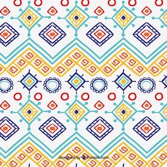Boho pattern con stile hippie