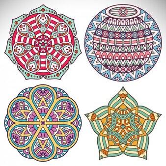 Boho ornamenti in stile collezione