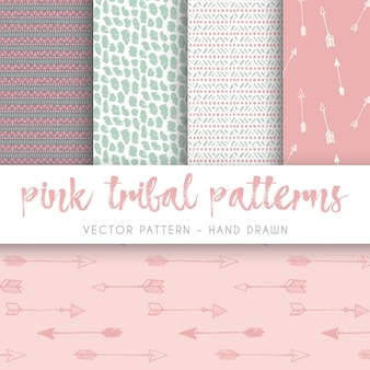 Boho style pattern collection