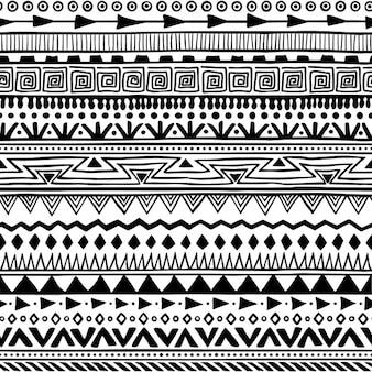 Boho style pattern