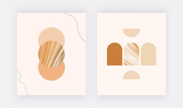 Настенный принт в стиле бохо. современный абстрактный дизайн