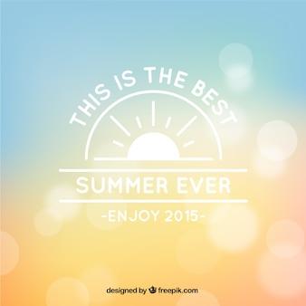 Bokeh background for summer