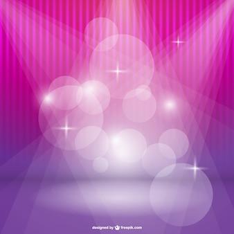 분홍색과 보라색 톤의 bokeh 배경