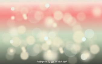 Bokeh background in red and green tones