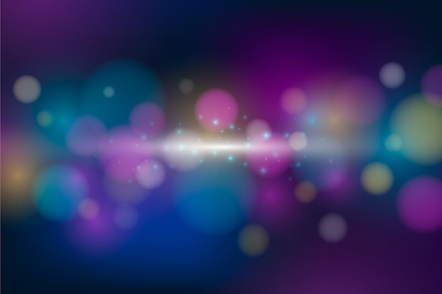 Bokeh background with abstract design