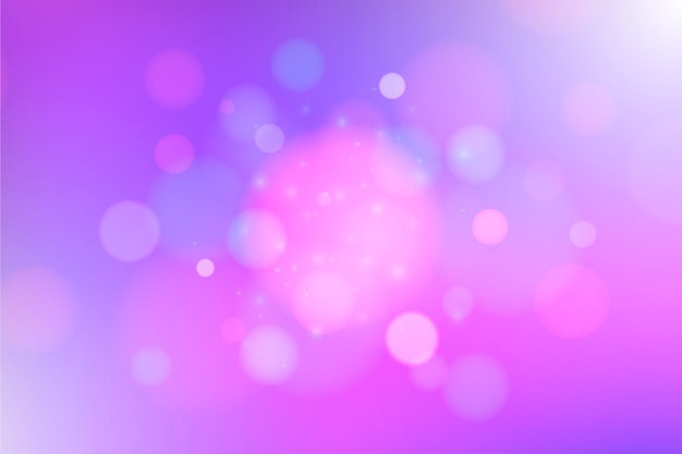 Bokeh background with abstract style