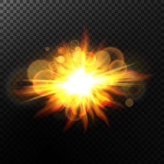 Bokeh background with sparkles.light effect.bright particles.
