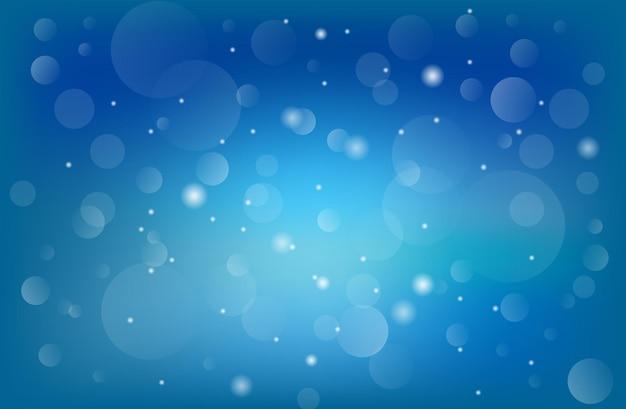 ボケ青はオレンジ色の抽象的な背景をぼかします