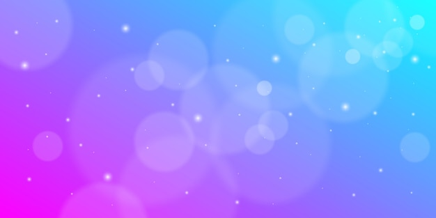Bokeh or blurred background with dot elements.
