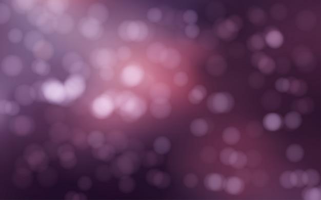 暗い背景のボケ味のぼやけたライト