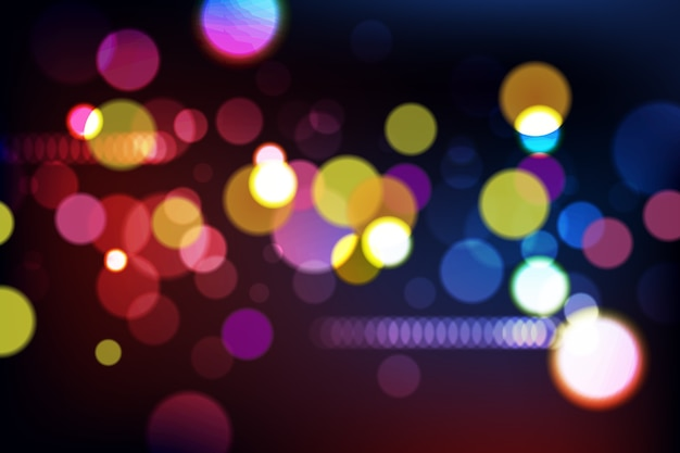 Bokeh concept for wallpaper