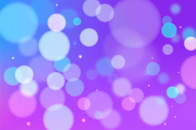 Bokeh design for background