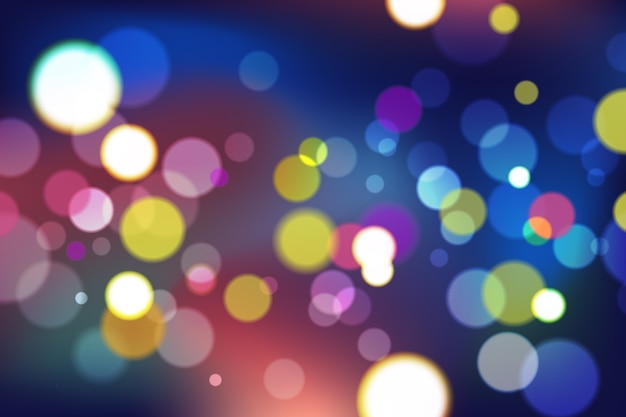 Bokeh design for wallpaper